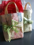 recycled gift bags